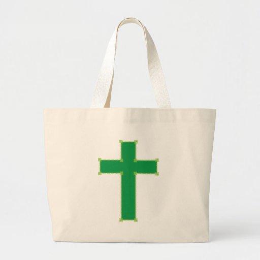 Cruz verde bolsas de mano