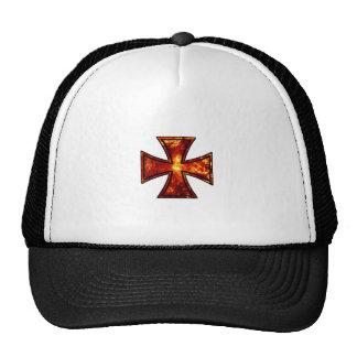 Cruz volcánica del hierro gorras