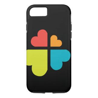 Cruz y corazones funda iPhone 7