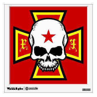 Cruz y cráneo del hierro