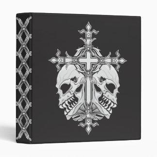 Cruz y cráneos góticos