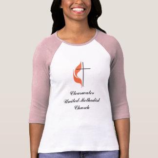 Cruz y llama, ClearwaterUnited MethodistChurch Playera