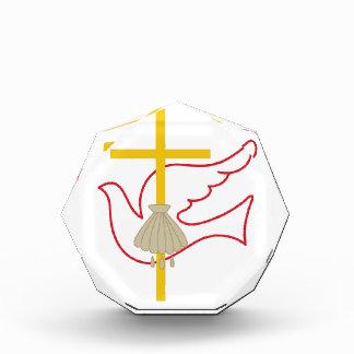 Cruz y paloma del bautismo