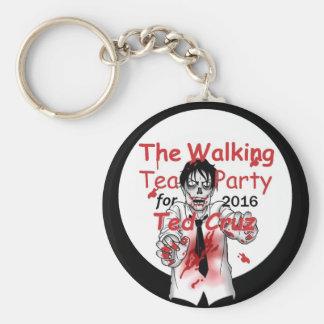 Cruz Zombies 2016 Basic Round Button Keychain