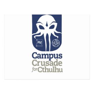 Cruzada del campus para Cthulhu Tarjetas Postales