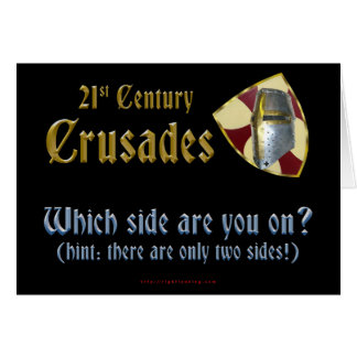 Cruzadas del siglo XXI Tarjetas
