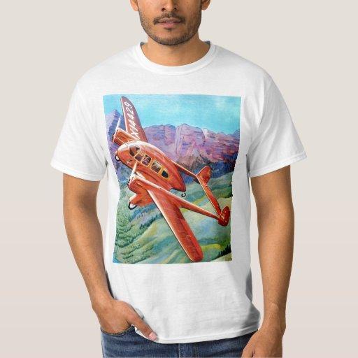 Cruzado - ala de vuelo de Shelton Playera