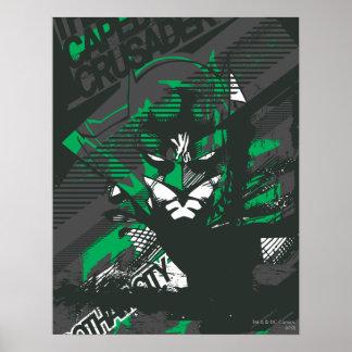 Cruzado de Caped de Gotham Impresiones