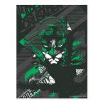 Cruzado de Caped de Gotham Postal