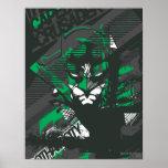 Cruzado de Caped de Gotham Póster