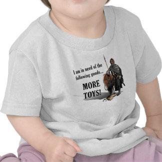 Cruzado de la ciudadela - más juguetes - bebé camiseta