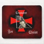 Cruzado para Cristo Tapetes De Raton