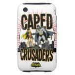 Cruzados de Caped gráficos Tough iPhone 3 Cárcasas