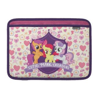 Cruzados de la marca de Cutie Fundas MacBook