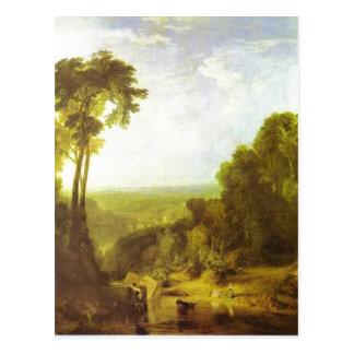 Cruzando el arroyo J.M.W. Turner, 1815, aceite enc Postal