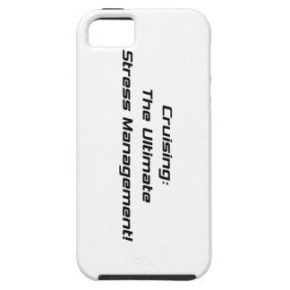 Cruzando la última gestión del estrés iPhone 5 Case-Mate coberturas