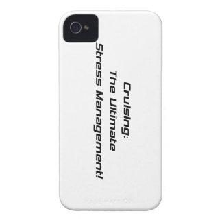 Cruzando la última gestión del estrés iPhone 4 Case-Mate funda