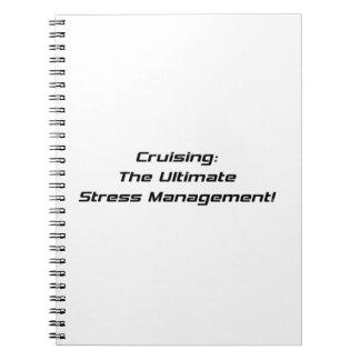 Cruzando la última gestión del estrés cuaderno