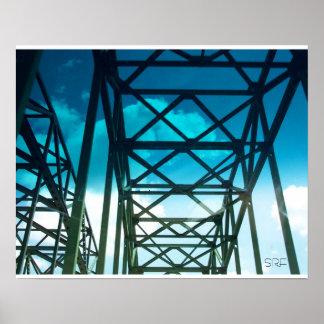 Cruzar el poster del puente por SRF
