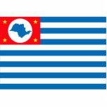 Cruzeiro Sao Paulo bandera del Brasil, el Brasil Esculturas Fotograficas