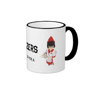 Cruzers Retro Waitress Mugs