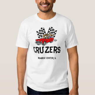 Cruzers with Race Flags T-Shirt