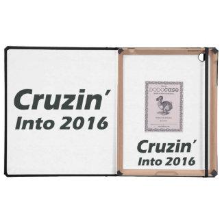 Cruzin en 2016 - blanco y negro iPad protectores