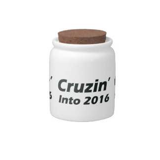 Cruzin' into 2016 - Black and White Candy Jars
