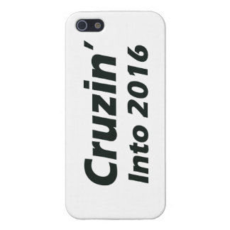 Cruzin' into 2016 - Black and White iPhone 5/5S Cover