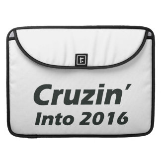 Cruzin' into 2016 - Black and White Sleeve For MacBook Pro
