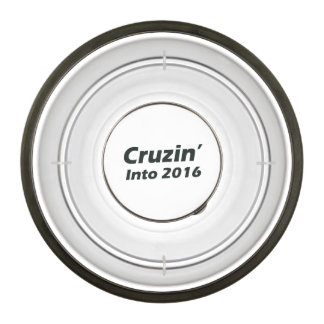Cruzin' into 2016 - Black and White Pet Bowl