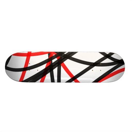 Cruzó la línea skate boards