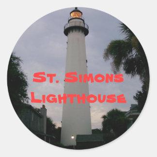 CRW 001, St. Simons Lighthouse Stickers