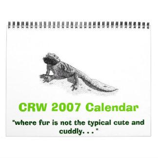 CRW's 2007 Calendar