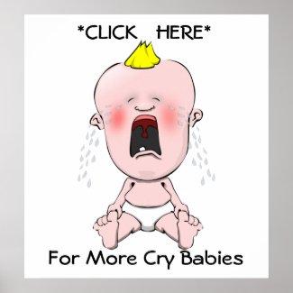 Cry Babies print