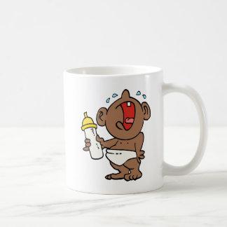 cry baby bottle coffee mug
