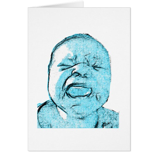 Cry Baby Card