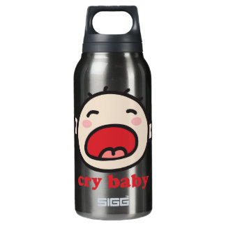 Cry Baby Insulated Water Bottle