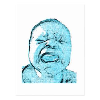 Cry Baby Postcard