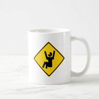 Cry Baby Road Sign Coffee Mug