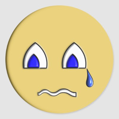 Crying Emoticon