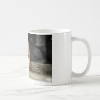 Cry Baby Vintage Doll Head Dirty Window Coffee Mug