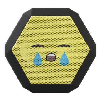 Cry Emoji Black Bluetooth Speaker
