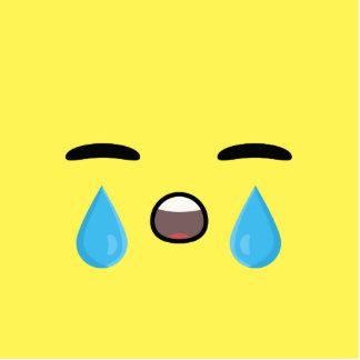 Cry Emoji Cutout
