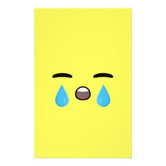 Cry Emoji Stationery