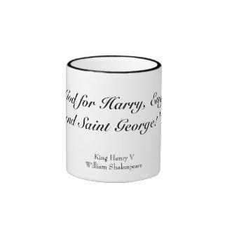 Cry 'God for Harry' Ringer Mug
