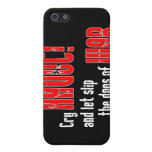 """Cry """"Havoc!"""" and Let Slip the Dogs of War Cover For iPhone 5"""