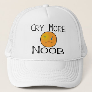 Cry More Noob Trucker Hat