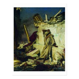 Cry of prophet Jeremiah Postcard