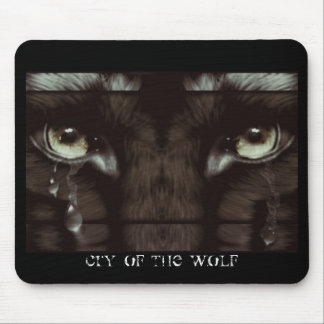 Cry of the Wolf Mouse Pad